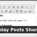 Display Posts Shortcode