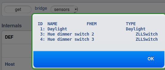 get bridge sensors